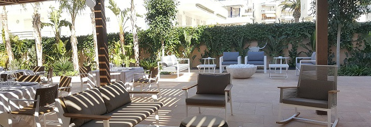 ZONE CHILL OUT Hotel Casa Vilella Sitges